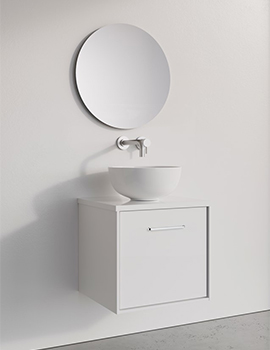 Crosswater Infinity 500mm Wide Wall Mounted Vanity Unit