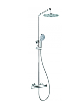 Levo Thermostatic Exposed Shower Set With Hand Shower Set