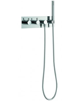 Levo Thermostatic Concealed Horizontal Valve