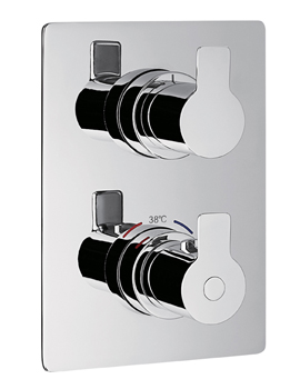 Spring Thermostatic Single Outlet Trim Kit With SmartBox