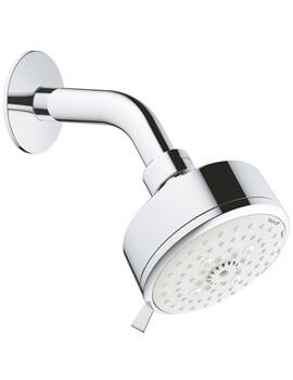 Tempesta Cosmopolitan 100 Chrome 4 Sprays Shower Head