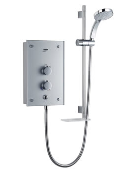 Galena 9.8kW Thermostatic Electric Shower With Kit