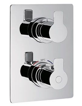 Spring Thermostatic 2 Way Divert Trim Kit With SmartBox