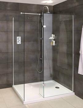 Spectra SP425 Walk-In Shower Enclosure For Corner