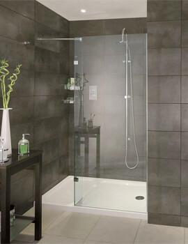 Spectra SP420 Walk-In Shower Screen Recess 1400mm