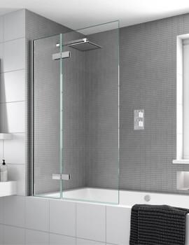Aqata Spectra SP485 Outward Opening Bath Screen 1000 x 1500mm