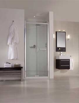 Spectra SP480 Recess Bi-Fold Shower Door