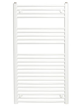 Biasi Dolomite Top-Quality Straight Towel Rail - 400mm Wide - Image