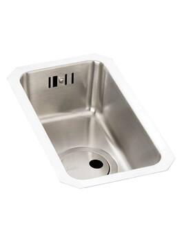Matrix R25 0.5 Bowl Stainless Steel Kitchen Sink