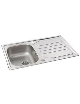 Mikro 1.0 Bowl Stainless Steel Kitchen Sink With Drainer