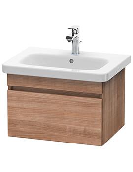 Duravit DuraStyle 580mm Natural Walnut Vanity Unit With 650mm Basin