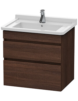 Duravit DuraStyle 650mm 2 Drawer Vanity Unit With Basin