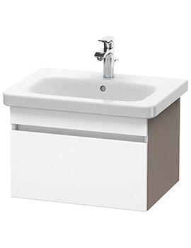 DuraStyle 580mm Vanity Unit With 650mm Basin