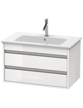 Duravit Ketho 2 Drawer Wall Mounted Vanity Unit