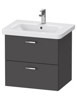 XBase 2 Drawer Vanity Unit For DuraStyle Basin