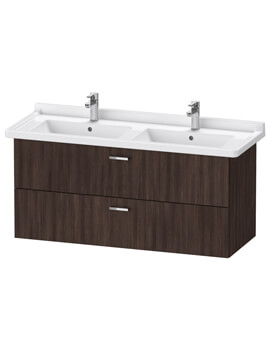 XBase 1200mm Wall Mounted Vanity Unit With 2 Drawer For Starck 3 Basin