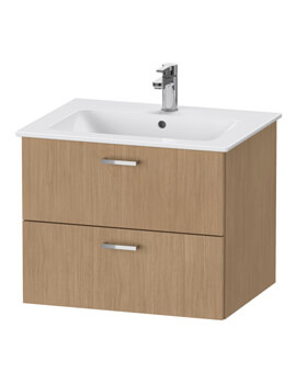 XBase 2 Drawer Vanity Unit For ME By Starck Basin