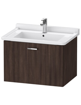 XBase 1 Pull-Out Compartment Vanity Unit For Starck 3 Basin