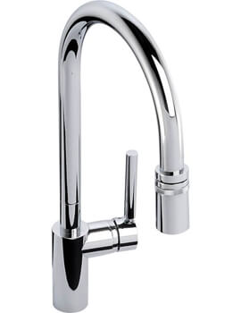 Ratio Single Lever Pull Out Kitchen Mixer Tap