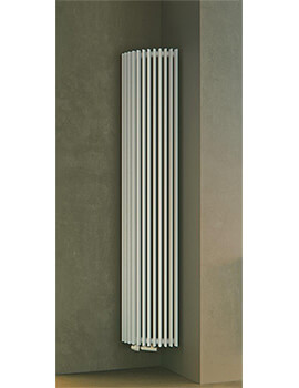 Apollonia 1800mm High Single Tube Corner Radiator
