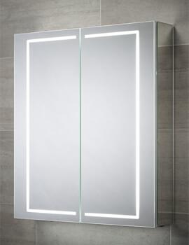 Sensio Sonnet 600 x 700mm Illuminated LED Double Door Mirror Cabinet