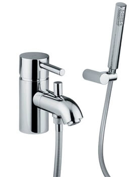 Harmonie Monobloc Bath Shower Mixer Tap With Diverter And Shower Handset