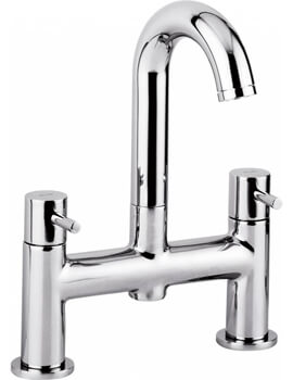 Abode Harmonie Deck Mounted Bath Filler Tap