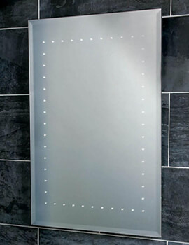 Solar LED Back Lit Mirror With Demister Pad