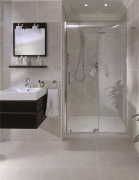 Spectra SP300 Recess Sliding Shower Door 2000mm Height