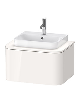 Happy D.2 Plus 650 x 480mm Vanity Unit For Console With 1 Pull-Out Compartment