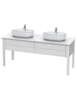Luv 1783 x 570mm 2 Compartment Vanity Unit