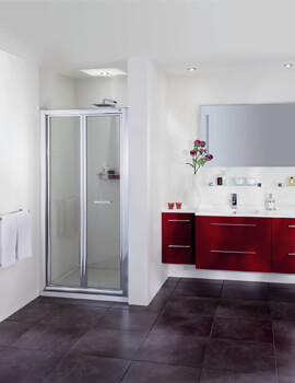 Exclusive ES260 Bi-Fold Shower Door For Recess
