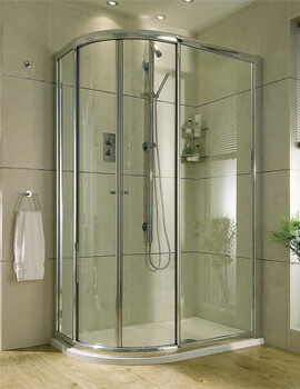 Exclusive ES360 Sliding Door Quadrant Shower Enclosure