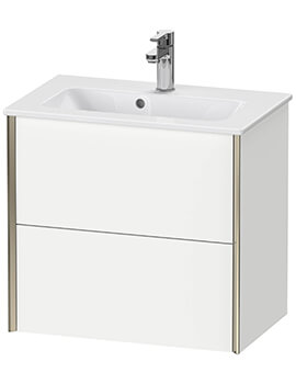 XViu Wall-Mounted 2 Drawers Vanity Unit For ME By Starck Basin