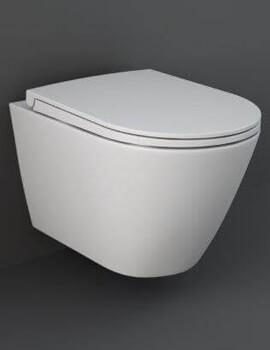 RAK Feeling Rimless Wall-Hung WC Pan And Soft Close Seat