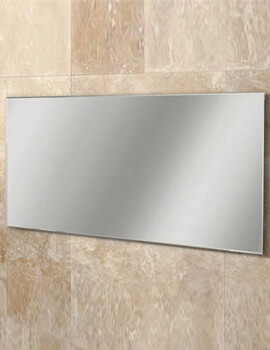 HIB Willow Landscape Bevelled Edge Mirror 1200 x 600mm - 77305000 - Image