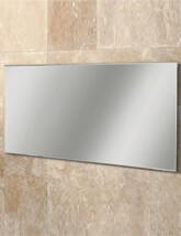 HIB Willow Landscape Bevelled Edge Mirror 1200 x 600mm - 77305000 - Small Image