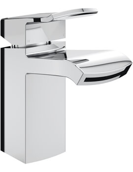 Bristan Descent Basin Mixer Tap With Clicker Waste - Image