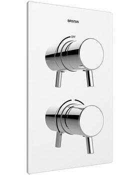 Bristan Prism Recessed Thermostatic Dual Control Shower Valve - Image