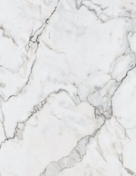 Nuance 2420mm x 1200mm Turin Marble Ultramatt-Laminate Postformed Wall Panel - Image