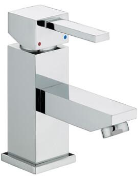 Bristan Quadrato Deck Mounted Basin Mixer Tap - Image