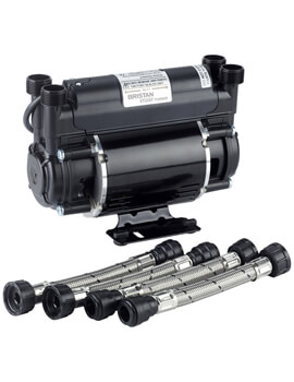 Bristan Stuart Turner Twin Impeller Shower Pump - Image