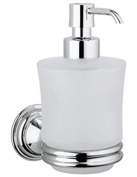 Crosswater Belgravia Wall Mounted Glass Soap Dispenser