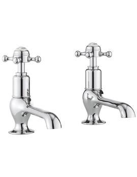Crosswater Belgravia Pair Of Long Nose Basin Taps