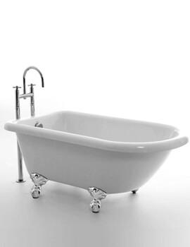 Royce Morgan Orlando Single Ended Small Bath 1380 x 750mm With Feet