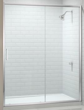 Merlyn 8 Series 8mm Glass Sliding Shower Door 1300mm Wide