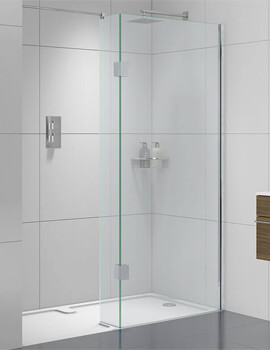 Aqata Design DS420 1400 x 900mm Walk-In Enclosure - 10mm Toughened Glass