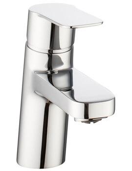 Crosswater Zero 6 Chrome Monobloc Basin Mixer Tap
