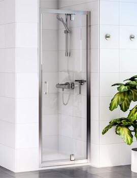 Aqualux Shine 6 1850mm High Pivot Shower Door - Image