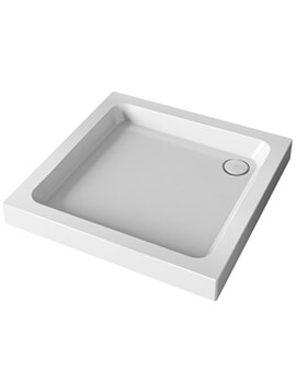Mira Flight Square Shower Tray With Waste - Image